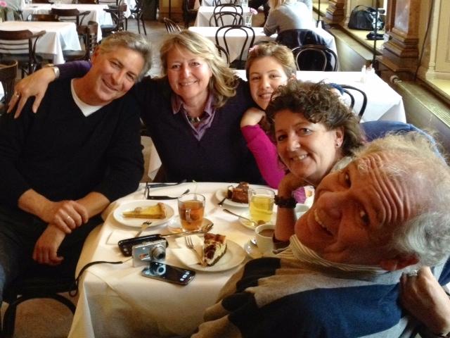 von links nach rechts:  Thomas Paarmann, Birgit Koepsell,  Annecy Spiegeler, Gabriela Koepsell, Carlos Spiegeler